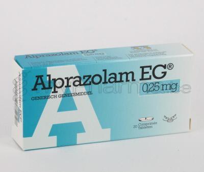 0 25 mg alprazolam