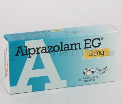 Alprazolam mg chart