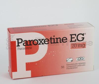 comment arreter paroxetine 20 mg