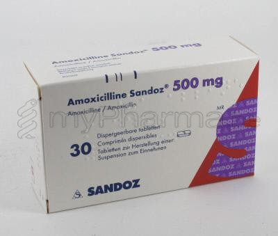 amoxicilline teva 750